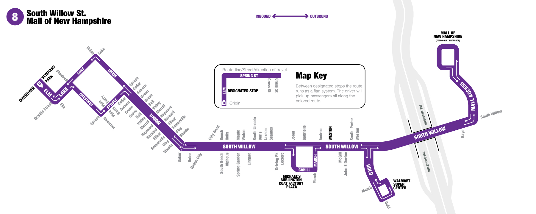 Route 8 | Manchester Transit Authority
